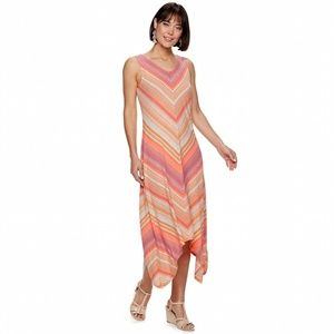 Women's Sharkbite Strappy Maxi Dress